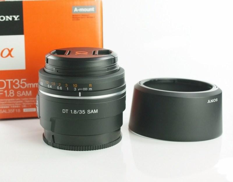 Sony DT 35mm f/1,8 SAM TOP STAV