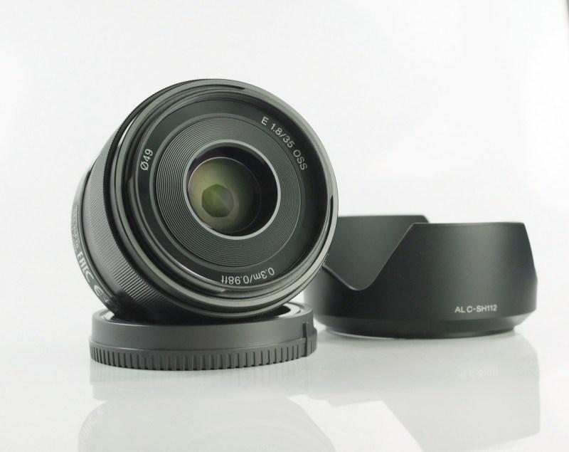 Sony 35mm f/1,8 OSS SEL záruka 8/2020