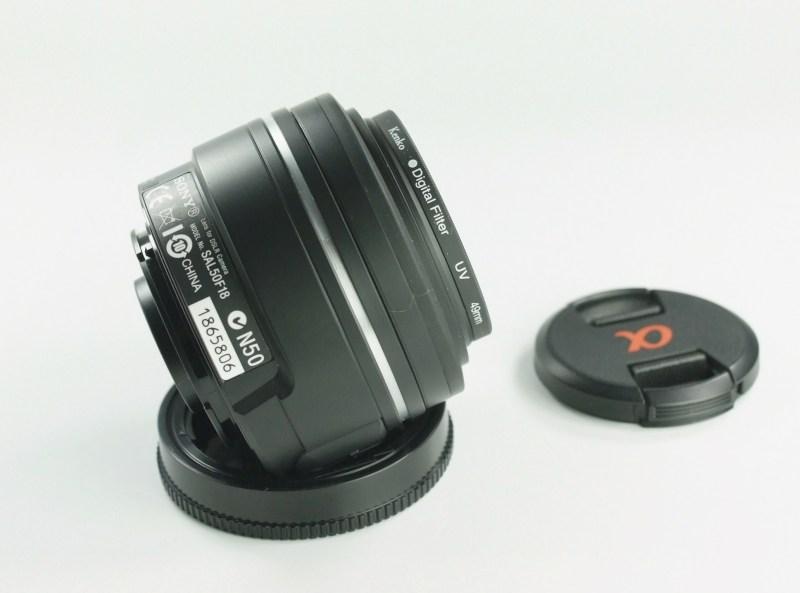 SONY 50 mm f/1,8 DT SAM SUPER STAV