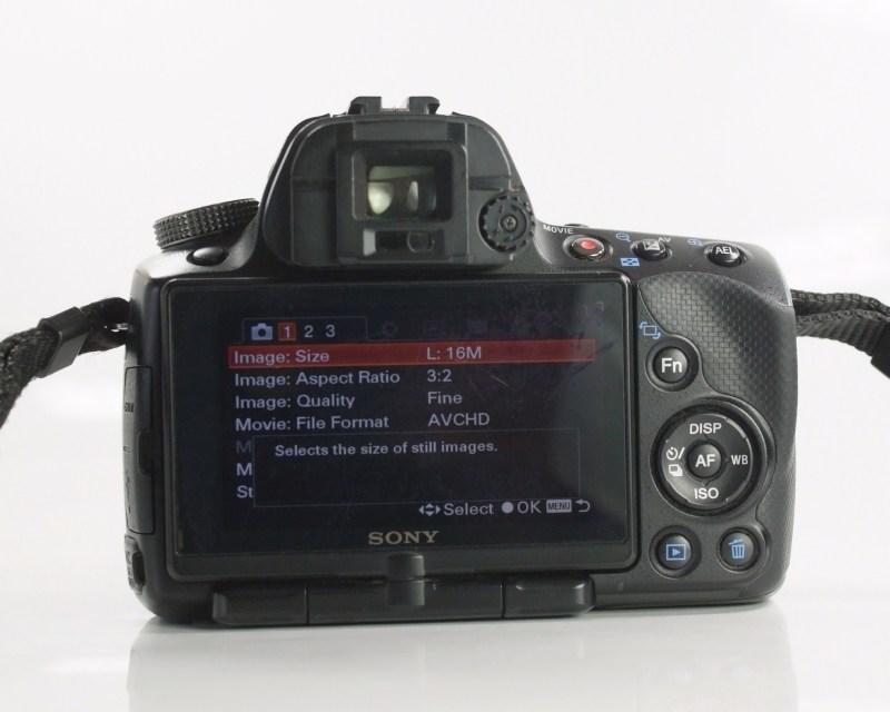 Sony Alpha A55 + Sony 18-55mm