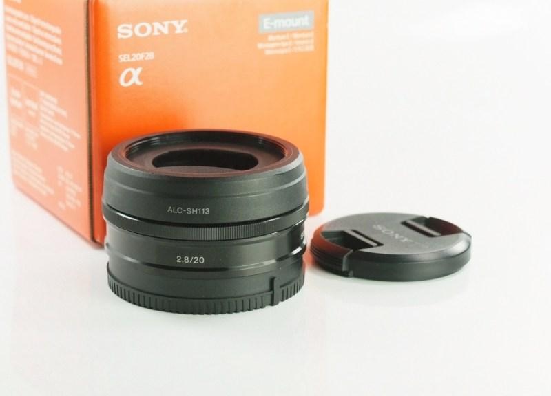 SONY 20 mm f/2,8 pro bajonet E záruka 12/2019