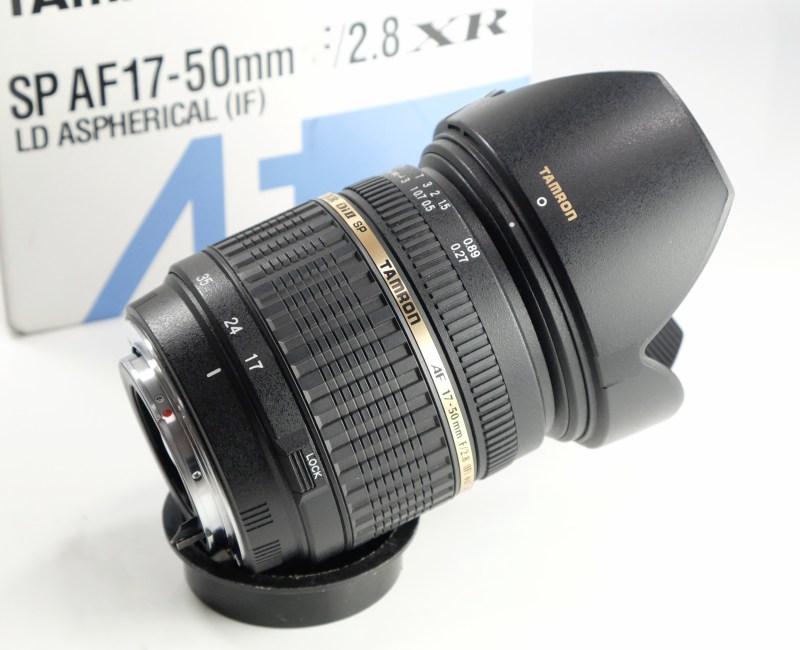 Tamron SP AF 17-50mm 2,8 pro PENTAX SUPER STAV