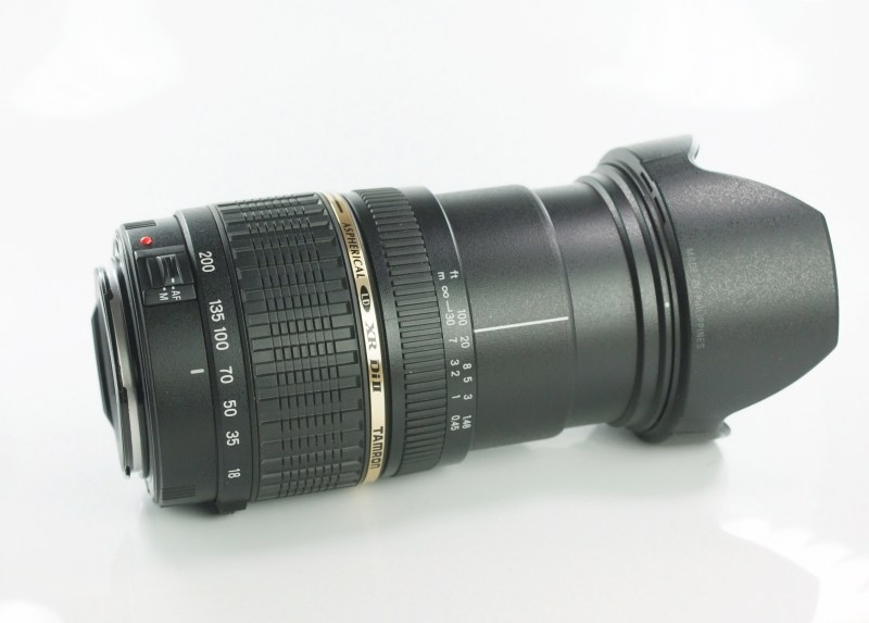 TAMRON 18-200 mm f/3,5-6,3 Di II pro Canon