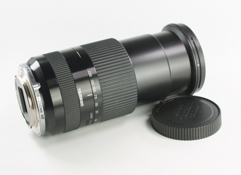 TAMRON 18-200 mm f/3,5-6,3 Di VC pro Canon EOS M