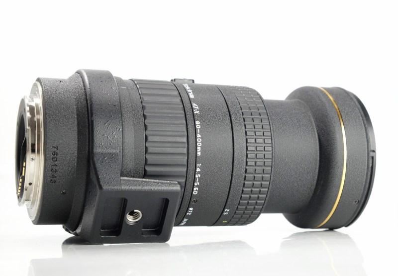 Tokina AF 80-400mm f/4,5-5,6 pro CANON TOP STAV
