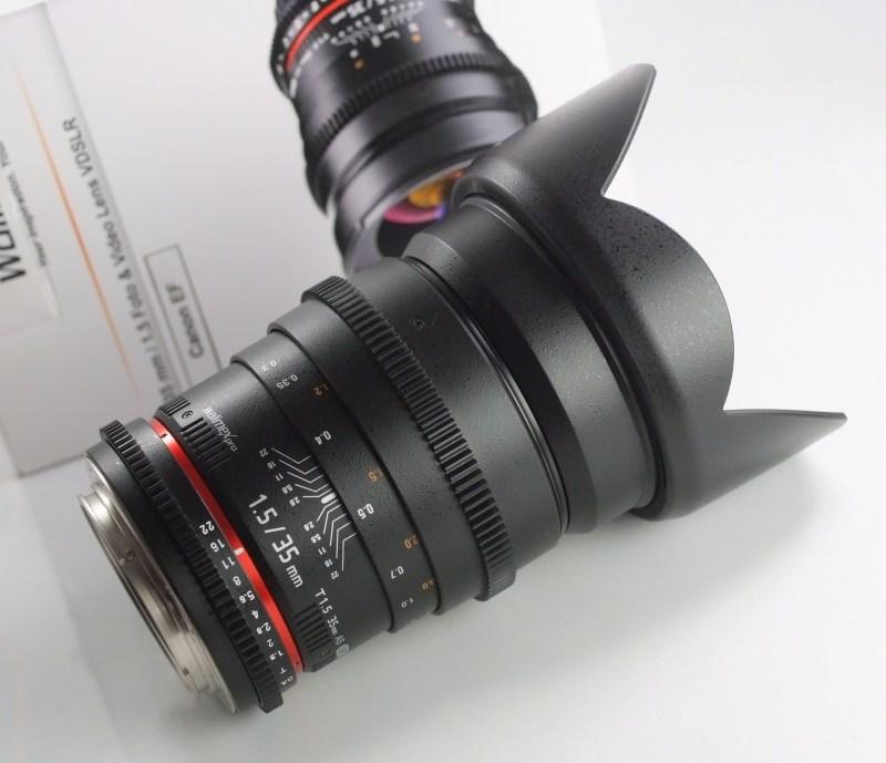 Walimex 35mm T/1,5 VDSLR  pro Canon (Samyang)