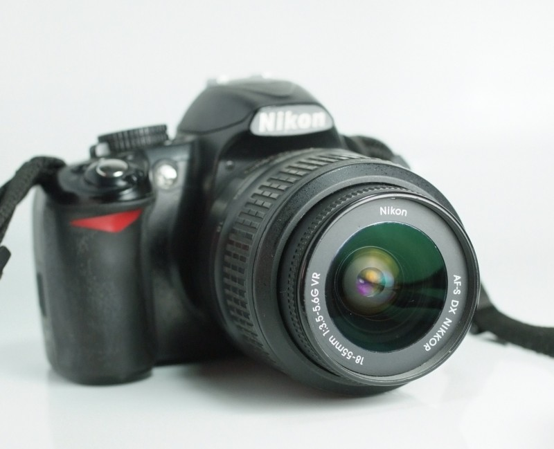Nikon 3100 + 18-55mm VR