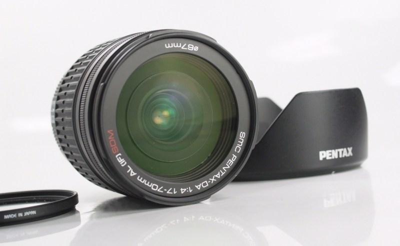 PENTAX 17-70 mm f/4 DA AL SDM