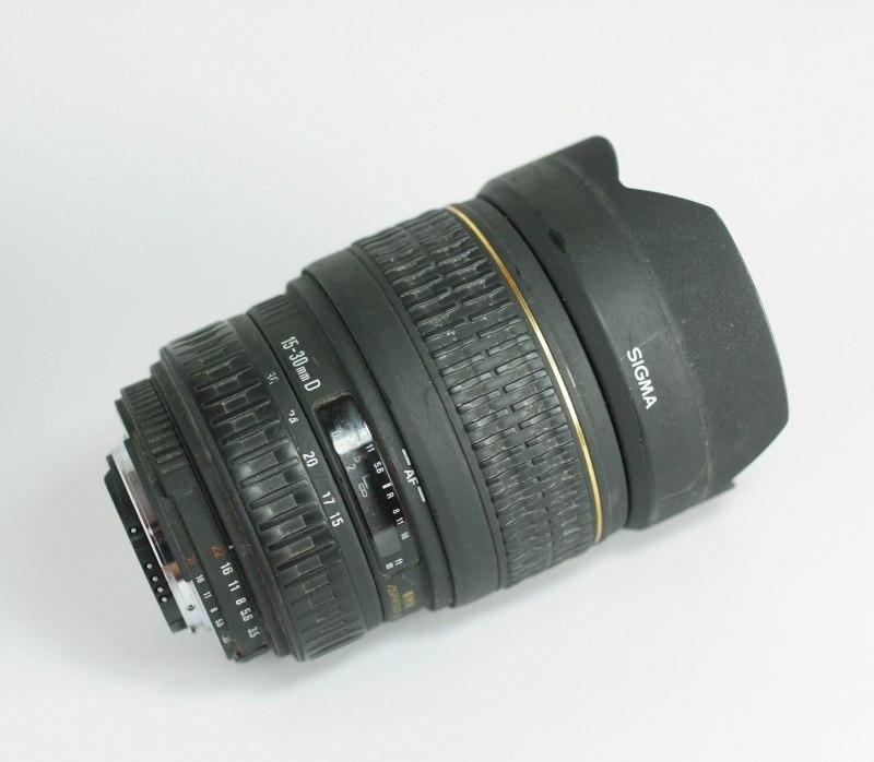 Sigma 15-30/3.5-4. 5 EX DG ASPH. pro Nikon
