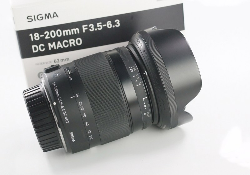 SIGMA 18-200 mm f/3,5-6,3 DC OS HSM Contemporary pro Nikon