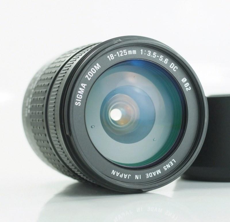 Sigma 18-125 mm F 3,5-5,6 DC pro Olympus TOP