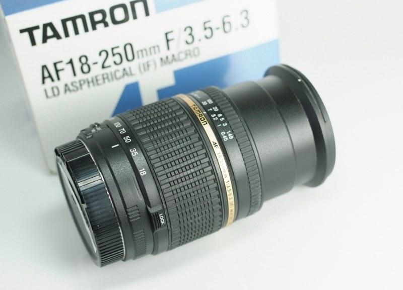 Tamron AF 18-250 mm F/3.5-6.3 Di-II pro Canon